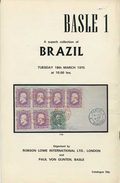 1975 (18 Mar) A superb collection of Brazil.