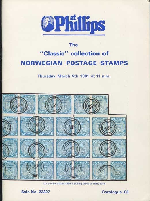 1981 (5 Mar) Classic collection of Norwegian postage stamps.