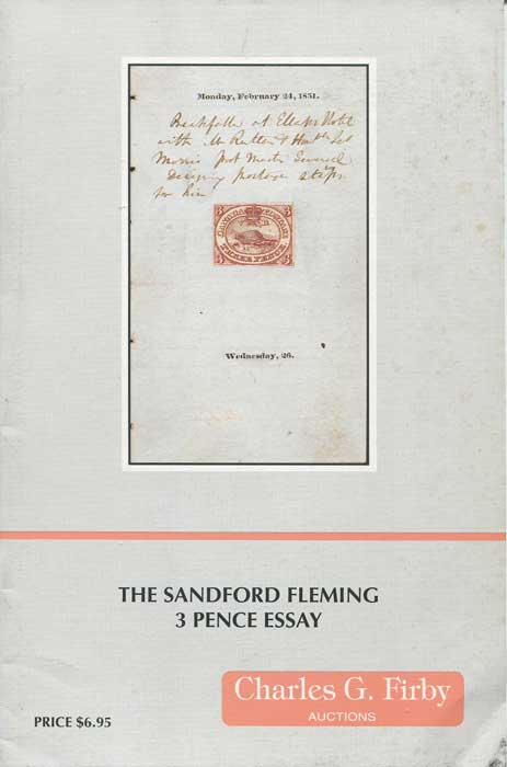 1996 (22 Oct) The Sandford Fleming 3 Pence Essay