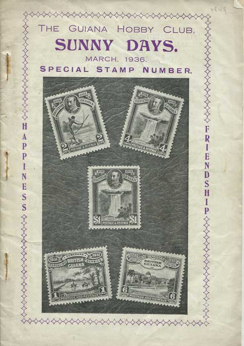 GUIANA HOBBY CLUB Sunny Days. Special Stamp Number