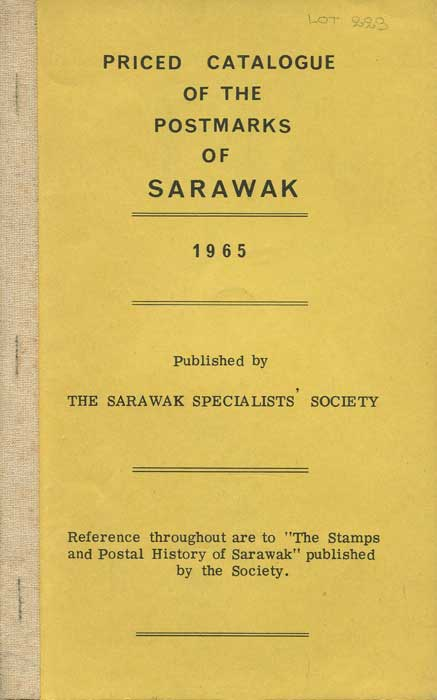 SYMES C.M.C. Priced Catalogue of the Postmarks of Sarawak