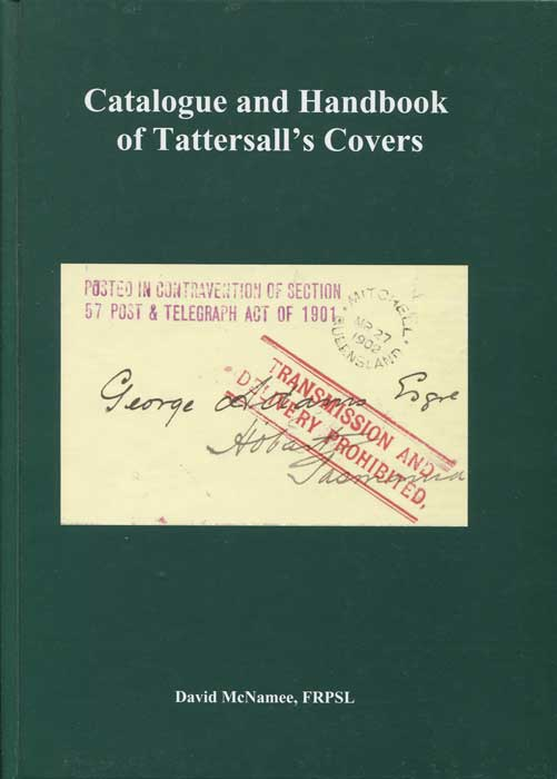 McNAMEE David Catalogue and Handbook of Tattersall