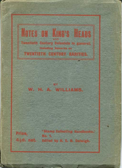 WILLIAMS W.H.A. Notes on King