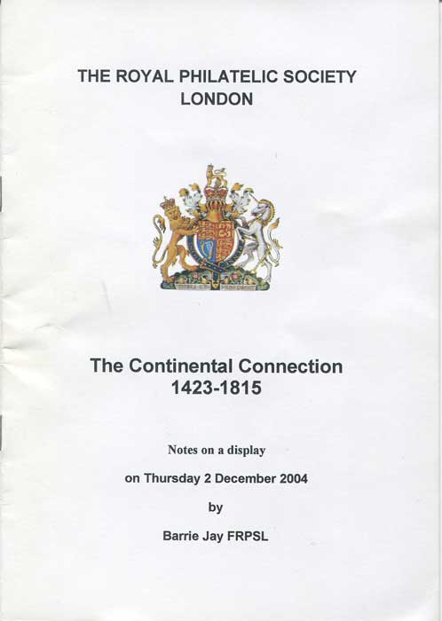JAY Barry The Continental Connection 1423-1815