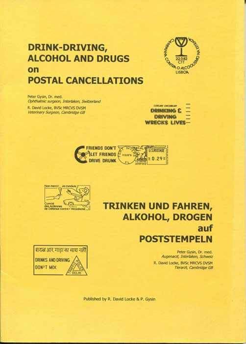 GYSIN Peter and LOCKE R. David Drink-Driving, Alcohol and Drugs on Postal Cancellations