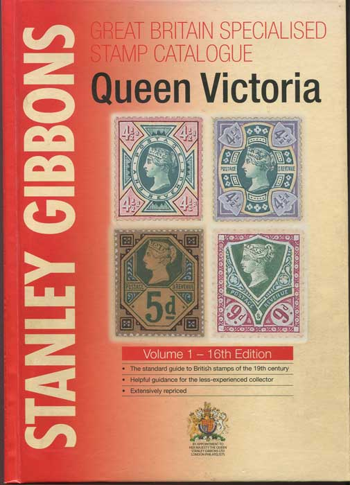 STANLEY GIBBONS Queen Victoria Great Britain Specialised stamp catalogue