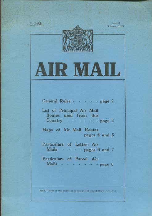POST OFFICE Air Mail