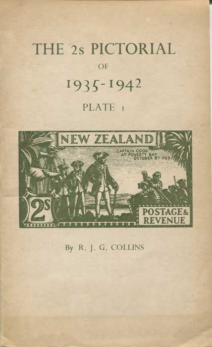 COLLINS R.J.G. The 2s Pictorial of 1935 - 1942. - A detailed study of Plate 1.