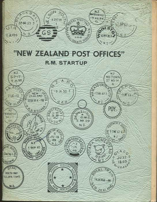 STARTUP R.M. New Zealand Post Offices.