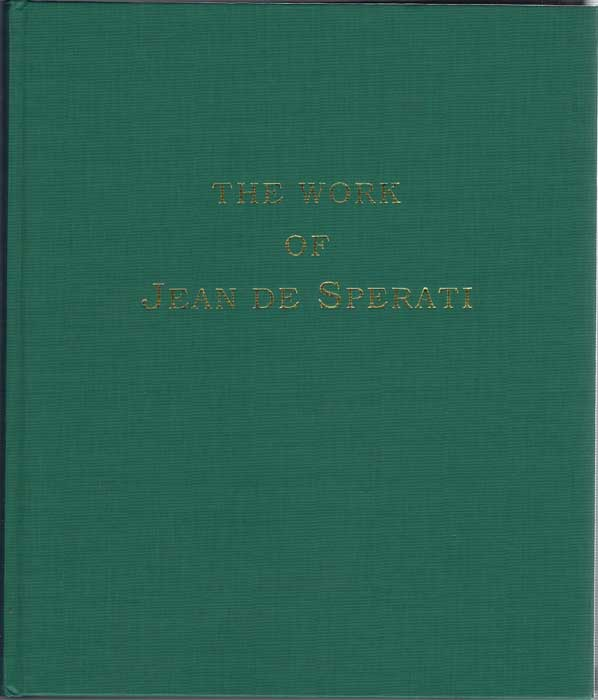 ANON The Works of Jean de Sperati.