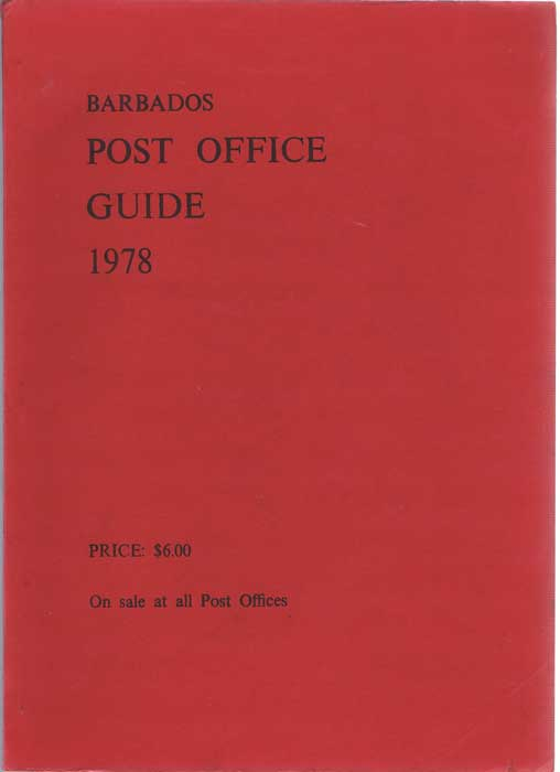 BARBADOS Post Office Guide 1978