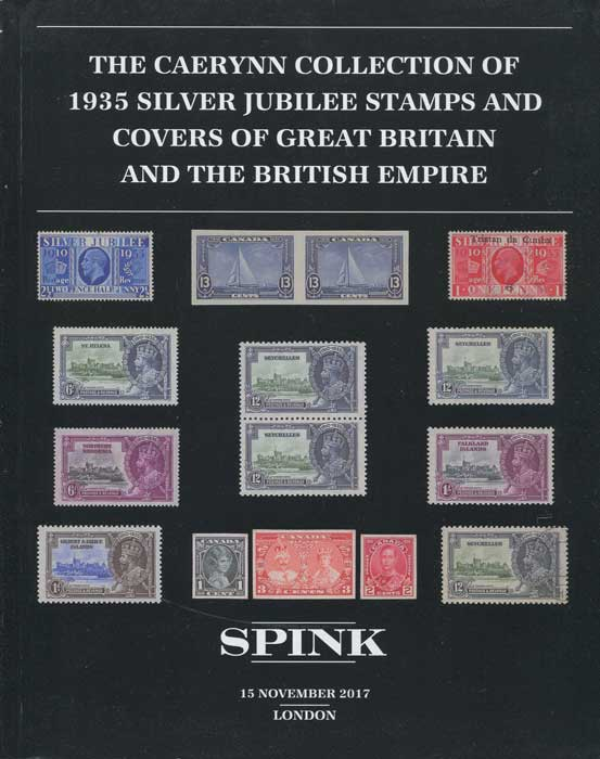2017 (15 Nov) Caerynn collection of 1935 Silver Jubilee stamps and covers of Great Britain and the British Empire