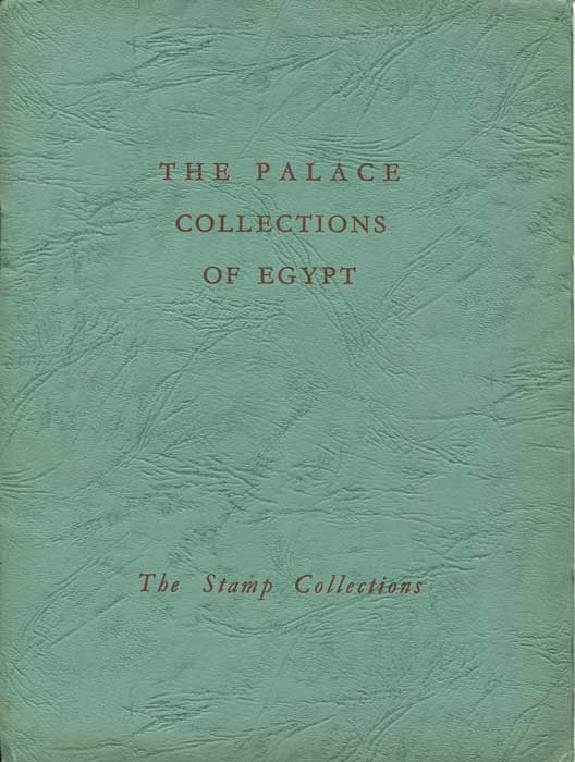 1954 (12-18 Feb) Palace collections of Egypt.
