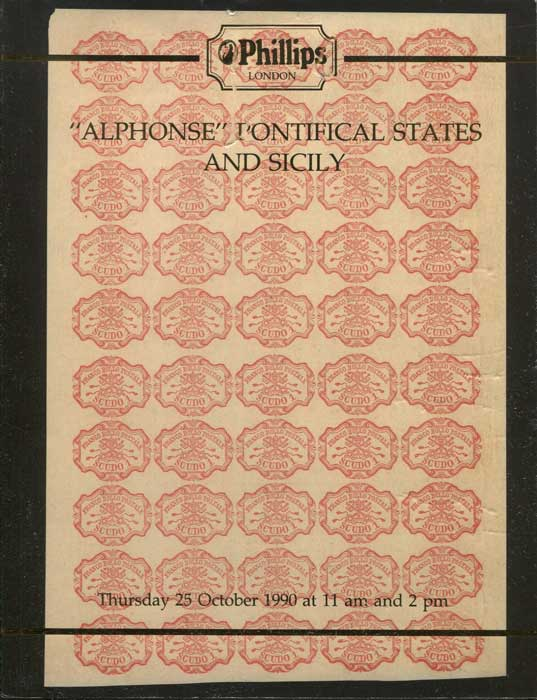1990 (25 Oct) Alphonse Pontifical States and Sicily