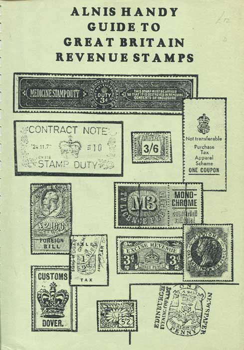 RELBMAR Alnis Handy Guide to Great Britain Revenues Stamps