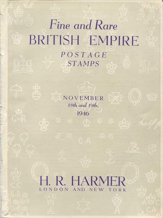 1946 (18-19 Nov) Fine and Rare British Empire