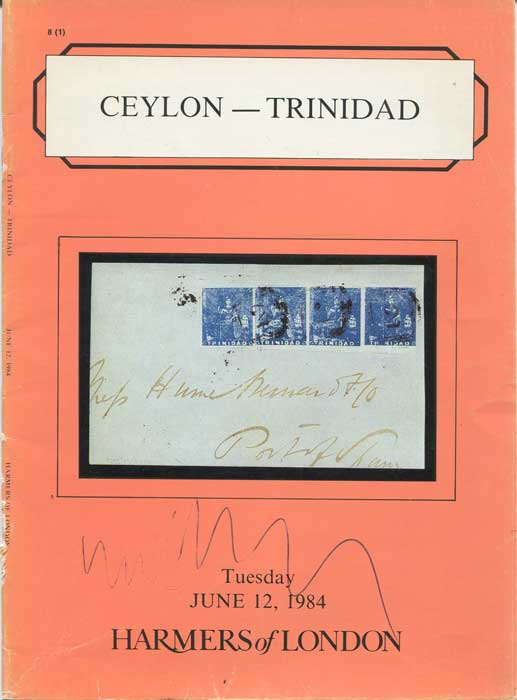 1984 (12 Jun) Ceylon and Trinidad including fine classic covers.