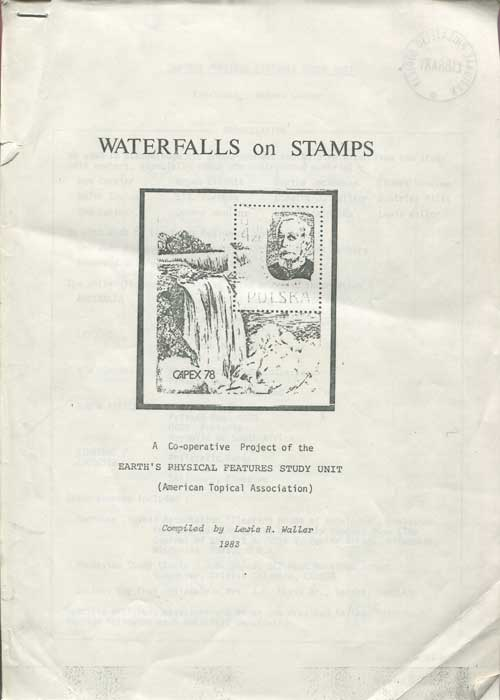 WALLER Lewis R. Waterfalls on stamps