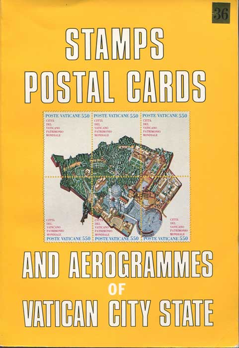 VATICAN Stamps, Postal Cards and Aerogrammes of Vatican City State