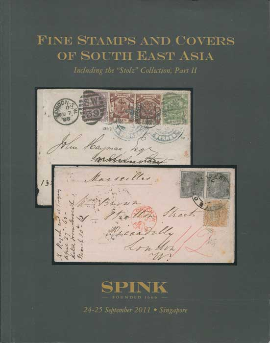 2011 (24-25 Sep) Fine stamps and covers of South-East Asia including the  Stolz collection Part II