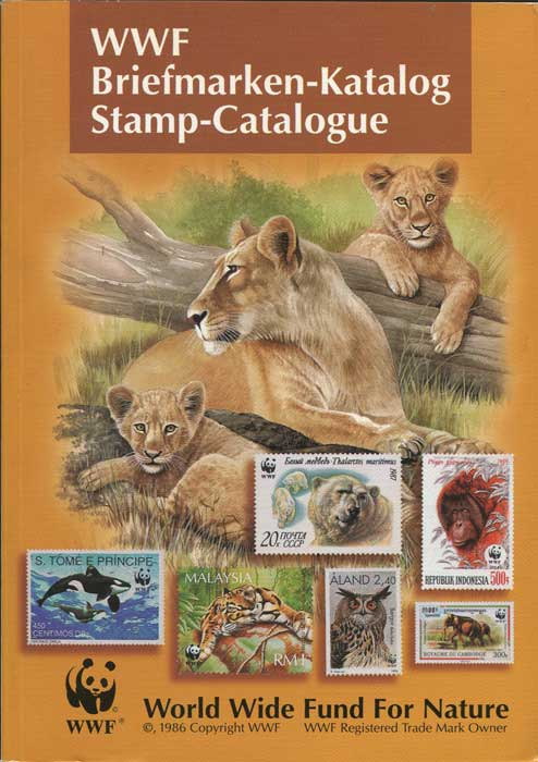 KAPPELER Dr Markus and GROTH Hans WWF Briefmarken Katalog | Stamp Catalogue | 1969 - March 1998