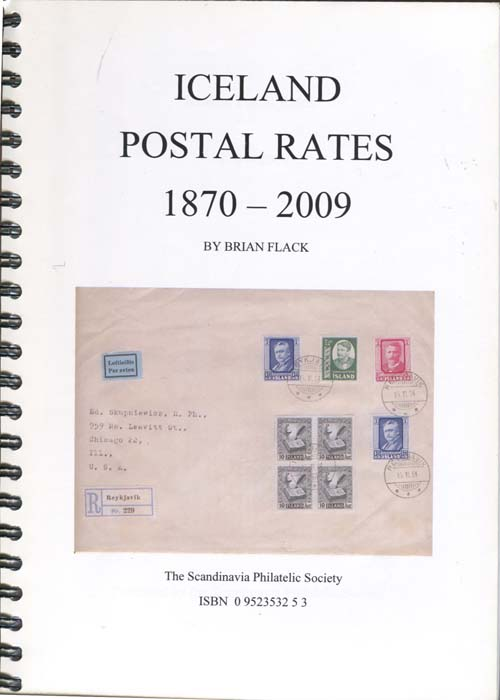 FLACK Brian Iceland Postal Rates 11870-2009