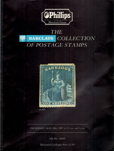 1987 (28 May) Barclays collection featuring fine Barbados and other West Indies.