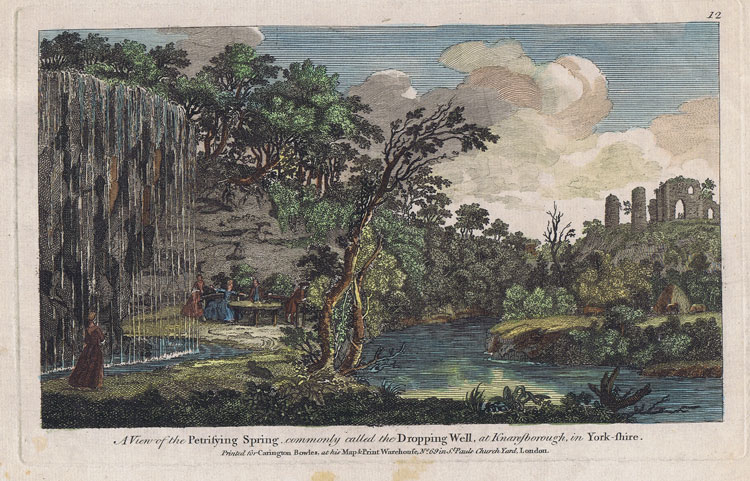 SMITH Thomas A View of the Petrifying Spring commonly called the Dropping Well, at Knaresborough, in Yorkshire.