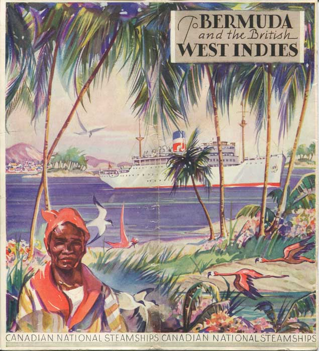 CANADIAN NATIONAL STEAMSHIPS To Bermuda and the British West Indies