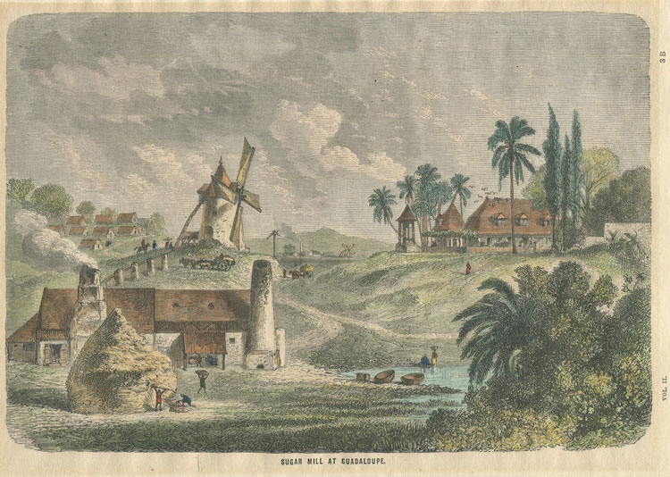 TRICHON Sugar Mill at Guadaloupe