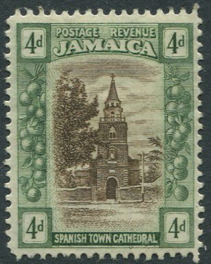 JAMAICA Spanish Town Cathedral