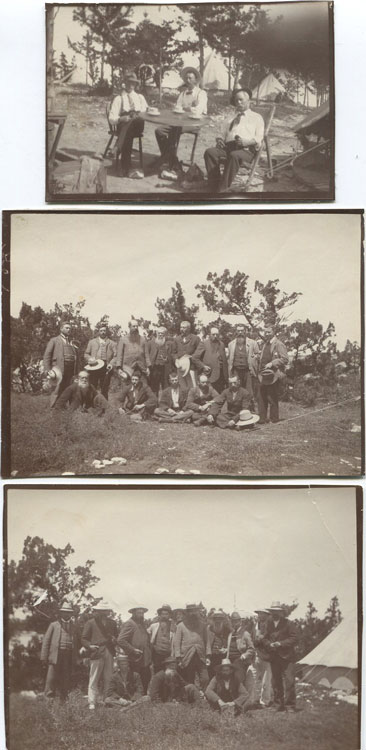 1902 Boers on Morgans Island camp, Bermuda