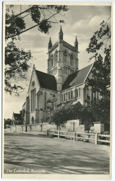 RUTHERFORD W. and GORHAM A.J. No 118 The Cathedral, Bermuda.