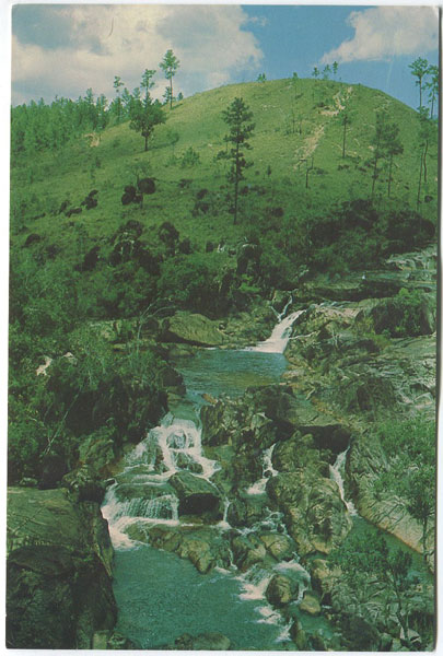 CUBOLA POSTCARDS Rio on Gorge, Mountain Pine Ridge, Cayo District - No 8