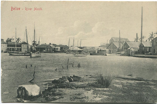 A.E. MORLAN Belize - River Mouth