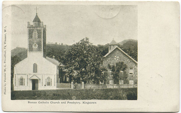 W.C. PROUDFOOT Roman Catholic Church and Presbytry, Kingstown.