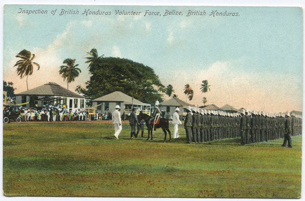 BEATTIE & CO Inspection of British Honduras Volunteer Force, Belize, British Honduras. - No 2985