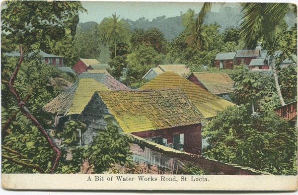 WESTALL & CO A bit of Water Works Road, St Lucia.