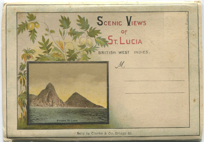 CLARKE & CO Scenic Views of St Lucia, British West Indies