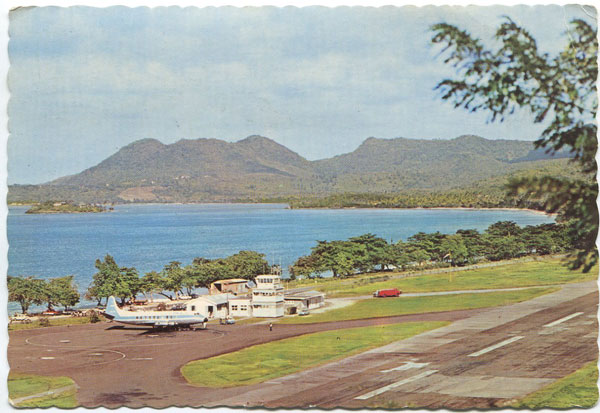 CLARKE & CO Terminal Building, Vigie Airport, St Lucia, W.I.