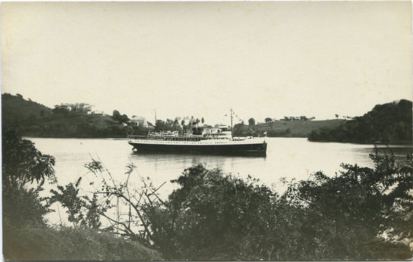 H. HAYNES S.S. New Northland arriving at St Lucia