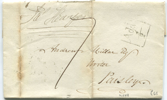 1825 (20 Mar) PAISLEY boxed