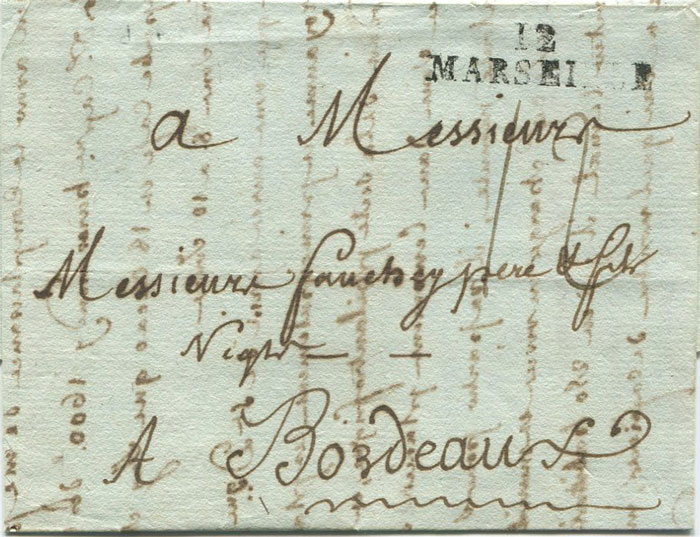 1791 (31 Aug) EL from Fort Royal, Martinique to France