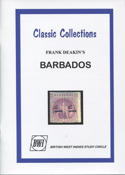 DEAKIN H.F. Advanced Barbados Philately.