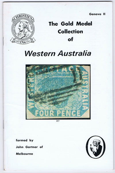 1979 (26 Apr) The Gold Medal collection of Western Australia.