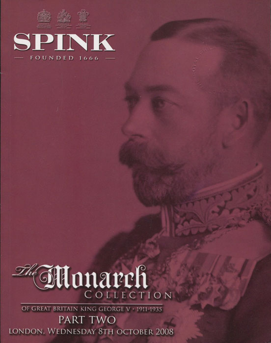 2008 The Monarch Collection of Great Britain King George V. 1911-1935. Part Two.