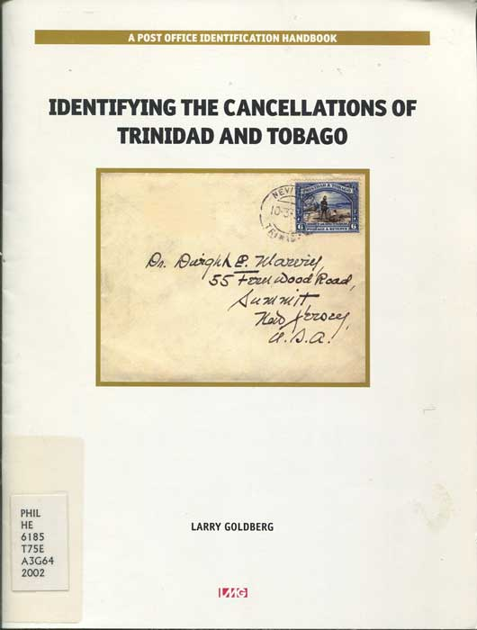 GOLDBERG Larry Identifying the cancellations of Trinidad and Tobago.