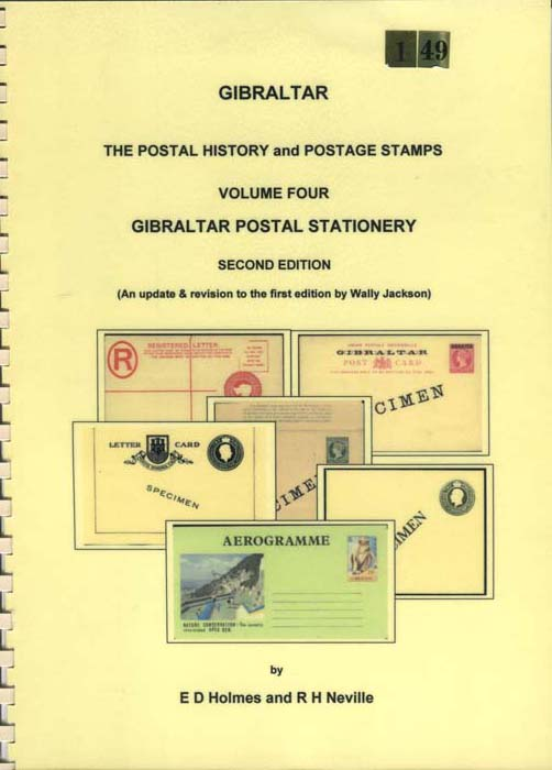 HOLMES E.D. and NEVILLE R.H. Gibraltar Postal Stationery